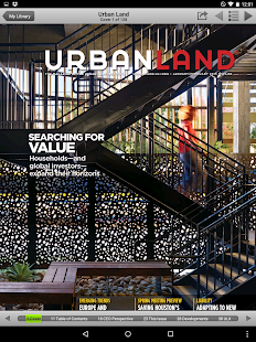 Urban Land Magazine - screenshot thumbnail