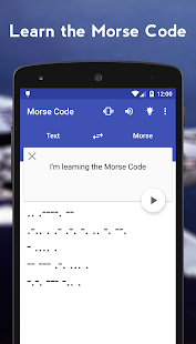 Morse Code+ Screenshot