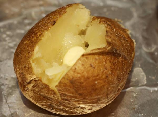 Crock Pot Baked Potatoes Recipe
