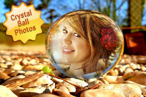 水晶球照片