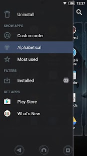 XPERIA™ Galactica Theme- screenshot thumbnail