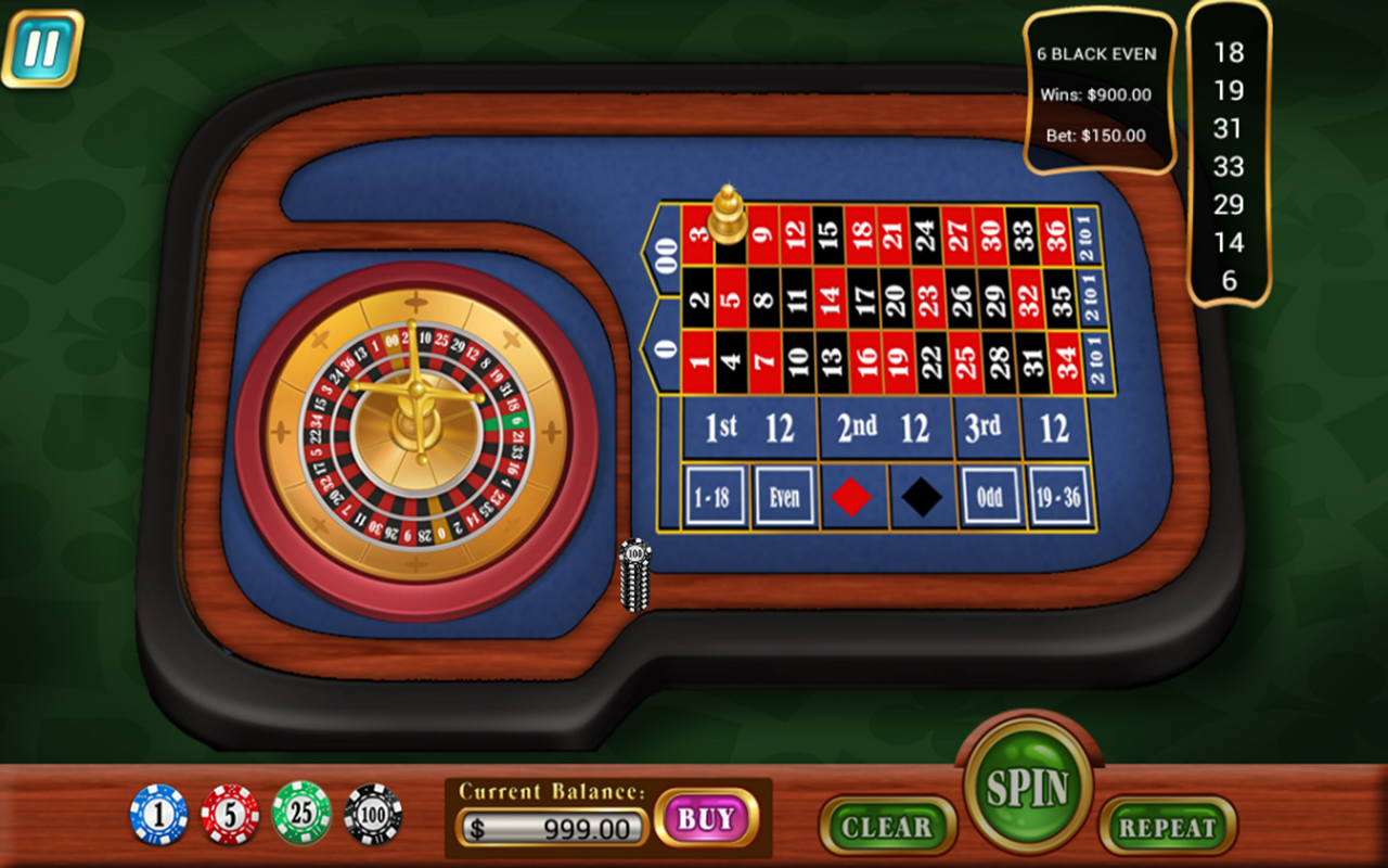 mini roulette table croupier android apps on google play. Black Bedroom Furniture Sets. Home Design Ideas