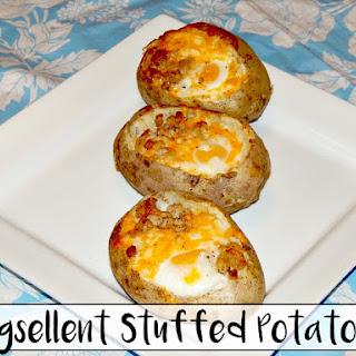 Eggsellent Stuffed Potatoes