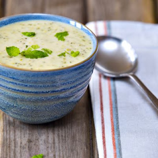 Easy Cheesy Broccoli Soup.