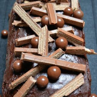 Triple Layer Kit Kat Cake