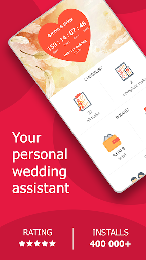 MyWed ❤️ Wedding Planner with Checklist and Budget 2.01.105 screenshots 1
