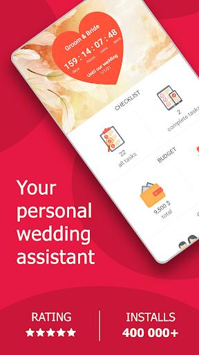 MyWed u2764ufe0f Wedding Planner with Checklist and Budget 2.02.112 Screenshots 1