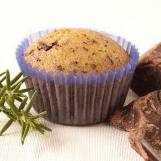 Dark Chocolate Rosemary Muffins Recipe
