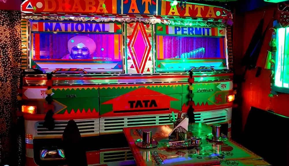 Noida SEctor 18 Dhaba at atta