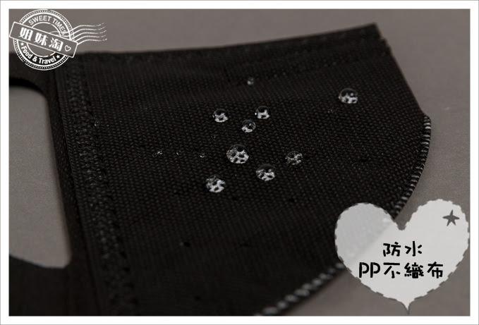 康乃馨PM2.5 3D立體口罩防水