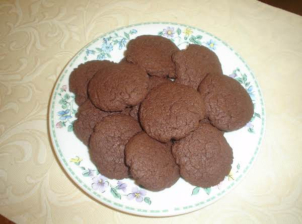 Chocolate Cayenne Cake-mix Cookies
