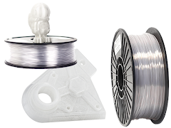 Clear 3D Printer Filament