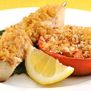 Swordfish Spiedini with Lemon-Garlic Crumbs