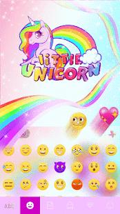 Little-Unicorn-Kika-Keyboard 2