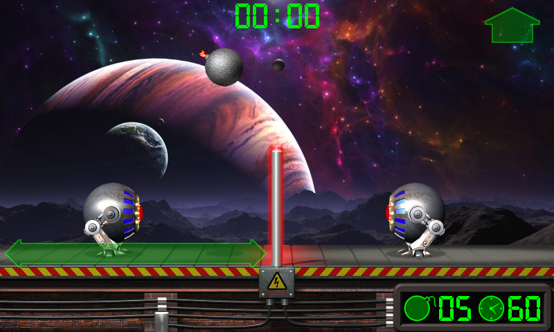 Extreme Volleyball. Battle Robots.- screenshot