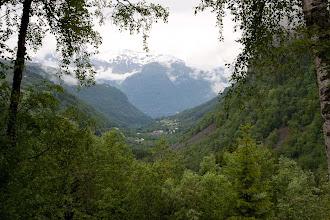 Photo: Over fjellet mot Geiranger