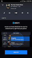screenshot of DIRECTV Remote App