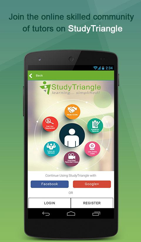 StudyTriangle- Online Tuitions- screenshot