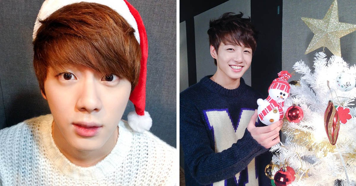 25 Nostalgic Photos From Bts S First Christmas As Bts