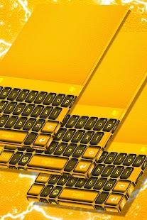 Black and Gold Keyboard - náhled