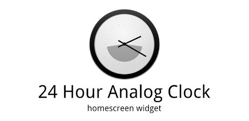 24h analog clock widget apps on google play. Black Bedroom Furniture Sets. Home Design Ideas