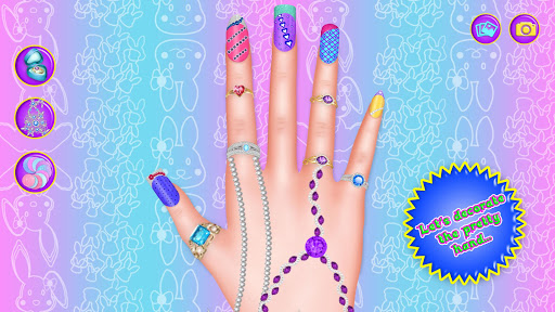 Bunny Nail Art Fashion Makeover Salon 1.1 screenshots 4