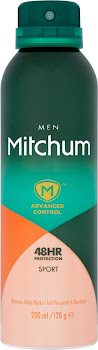 Mitchum Advanced Control Men Anti-Perspirant & Deodorant Spray - Sport, 200ml