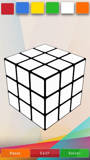 3D-Cube Solver 1.0.2 screenshots 1
