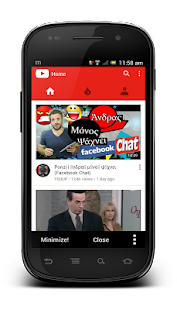 Minimizer for YouTube - náhled