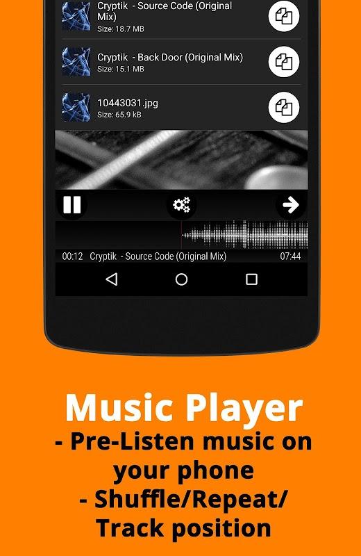 Music Player for Wear screenshots