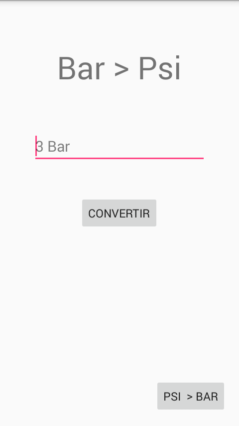 Converter: Bar - Psi- screenshot