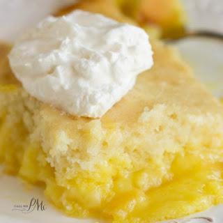 Easy Lemon Lava Cake.