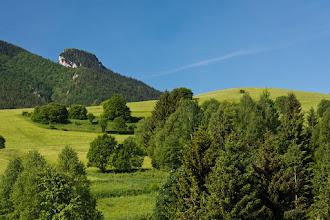 Photo: Ten charakterystyczny szczyt po lewej to Mały Rozsutec.