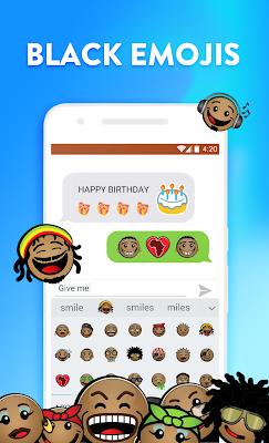 Smiley Emoji Keyboard 2018 - Cute Emoticon - screenshot