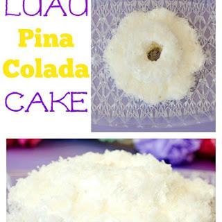 Luau Pina Colada Cake.