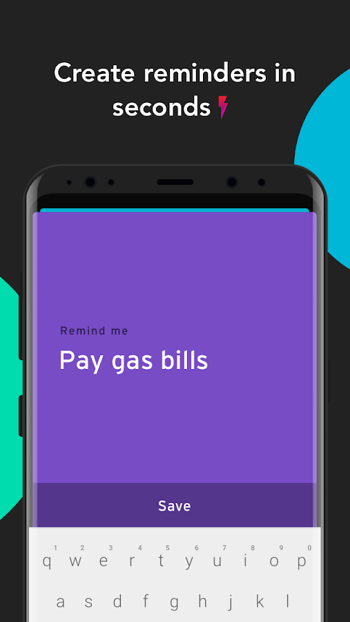 Recall: Create reminders in seconds ⚡️- screenshot