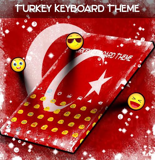 Turkey Keyboard Theme ss2