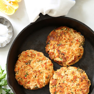 Lemony Salmon Patties