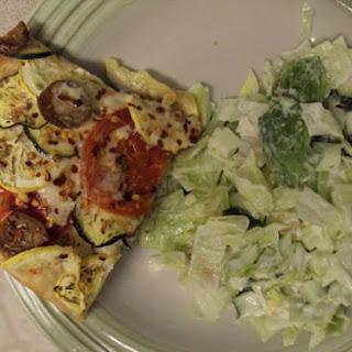 ~ Zucchini And Squash Tart ~