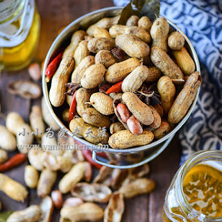 Asian Style Boiled Peanuts