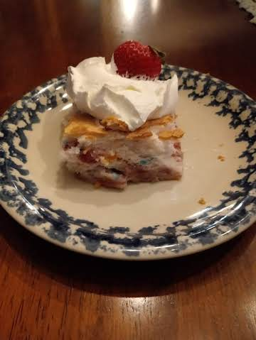 NOT GUILTY, NOT SORRY Strawberry Angel Cake