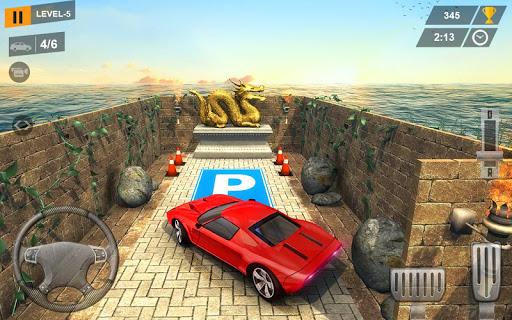 Modern Car Parking in 3D Maze ss1