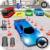 2018's Car parking game - city 3d car drive