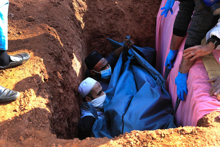 The Covid-19 pandemic has changed how people bury their loved ones.