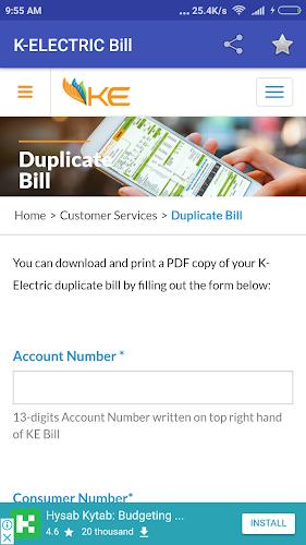 Download Electricity Bill Checker Pakistan APK latest version app by