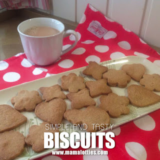 Simple, Tasty Biscuits.