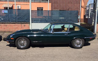 Jaguar E-type Rent Lombardia