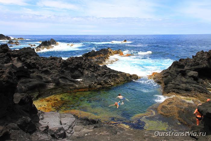 Природные бассейны в Моштейруш, Азорские острова