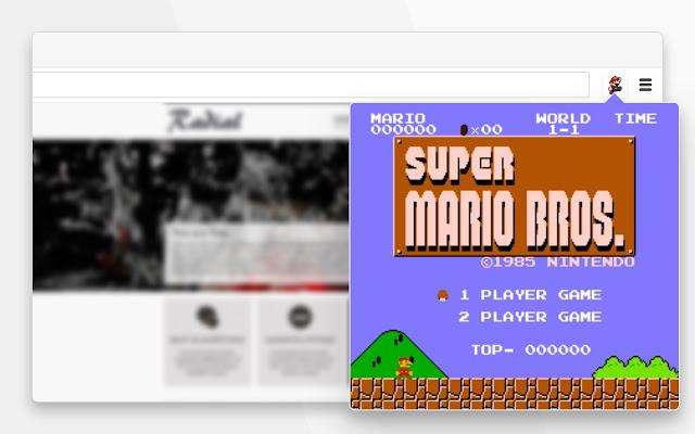 Mario Retro Game