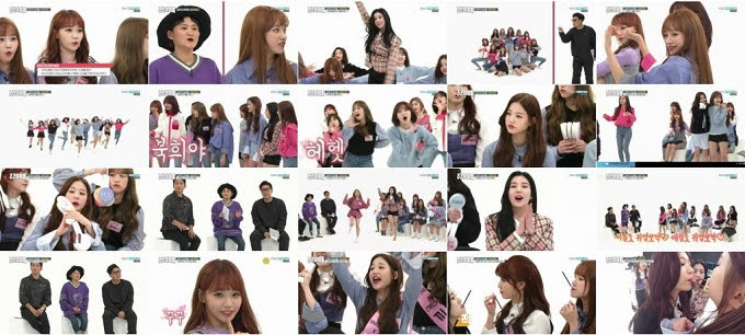 (TV-Variety)(720p) Weekly Idol – IZONE 181031